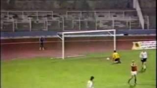 U-21 EM 88 Qualifier Luxembourg v Germany 28th OCT 1987