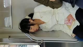 Expresi Orang Jepang Saat Tidur Di Kereta