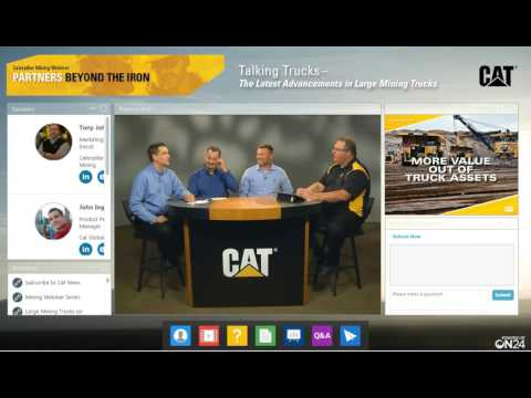 Talking Trucks : The Latests Advancements in Large Cat® Mining Trucks