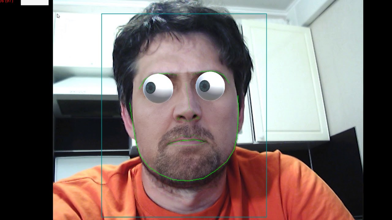 Eye pupil tracking with Unity3D
