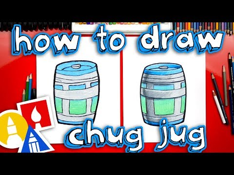 How To Draw A Chug Jug From Fortnite