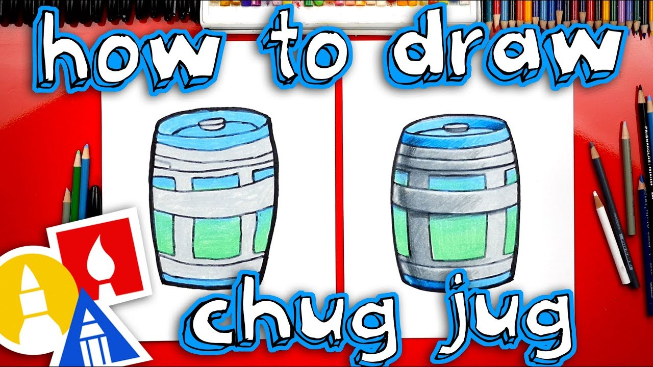 How To Draw A Fortnite Chug Jug , Art For Kids Hub ,