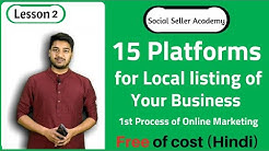 15 Platforms for Local Listing of your Business || Local SEO || Online Directory in India | In Hindi