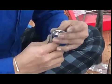 Artisan Finishing Silver Jewelry by Hand | Thank You India Ethical Designer Fashion