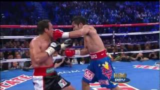 round 9 highlights manny pacquiao vs juan manuel marquez iii