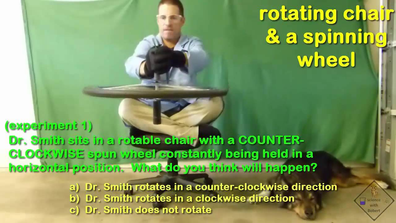 spinning chair and wheel experiments a science with bobert video short  sc 1 st  YouTube & spinning chair and wheel experiments a science with bobert video ...