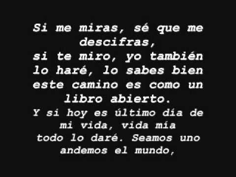 Juntos  Juanes (con letra)