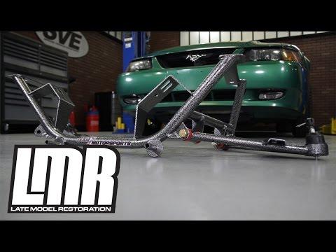 Mustang BMR Tubular K-Member with Standard Motor Mounts Install 2011-2014