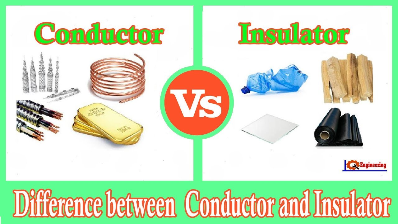 Image result for conductors insulators