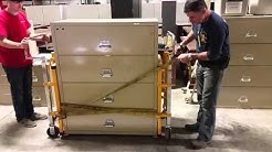 Moving a Fireproof Lateral File Cabinet