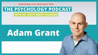 Think Again with Adam Grant [Video]    The Psychology Podcast