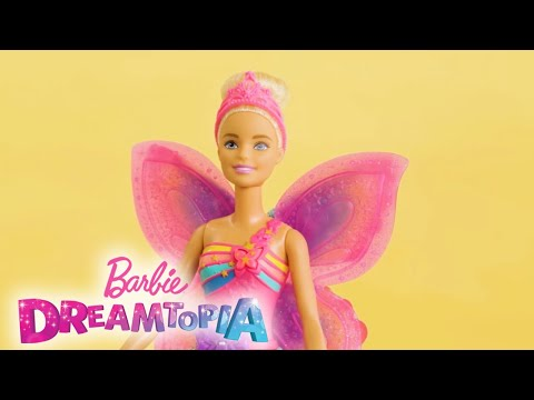 Unbox Barbie™ Dreamtopia Flying Wings Fairy Dolls and Soar Through Playtime | Barbie®