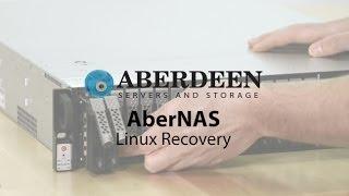 Aberdeen AberNAS Linux Recovery