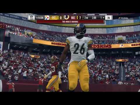 MADDEN 18 HEAD TO HEAD | MADE EM RAGE!! | PITTSBURGH STEELERS VS. WASHINGTON REDSKINS