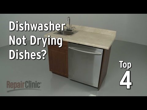 Top 4 Reasons Dishwasher is Not Drying Dishes?
