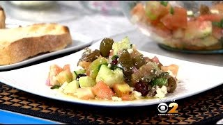 Stephanie & Tony's Table: Cucumber And Heirloom Tomato Salad