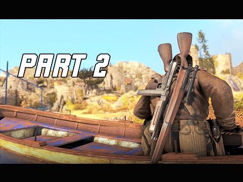 Sniper Elite 4 Walkthrough Part 2 -  BITANTI VILLAGE (PS4 Pro Let