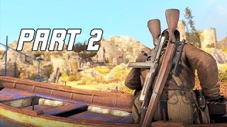 Sniper Elite 4 Walkthrough Part 2 -  BITANTI VILLAGE (PS4 Pro Let