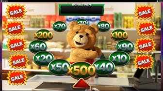 TED - Flash Free Spins + BIG MONEY BONUS !!