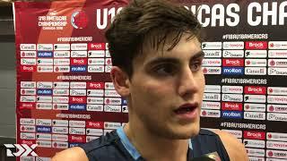 Juan De La Fuentes 2018 FIBA U18 Interview