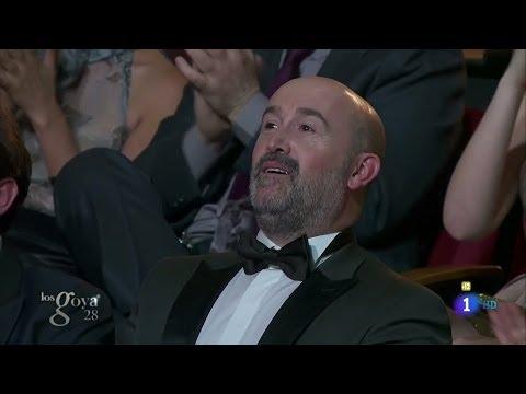 JAVIER CÁMARA  Premio Goya al Mejor Actor Protagonista  Los GOYA 2014
