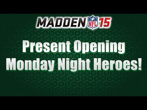MUT 15 | Present Opening | Monday Night Heroes | 97 George Blanda