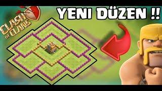 YENİ KÖY BİNASI 7 DÜZENİM !!(Efsane!) | Clash Of Clans