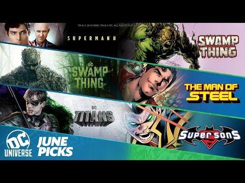 June Picks | DC Universe | The Ultimate DC Membership