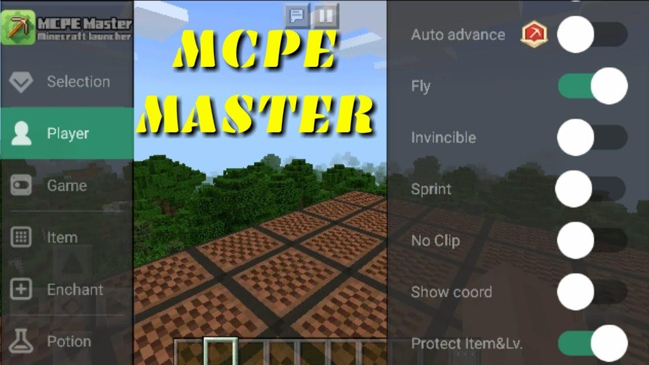 Minecraft pe [1 2 8] Best Mod Menu from MCPE MASTER app
