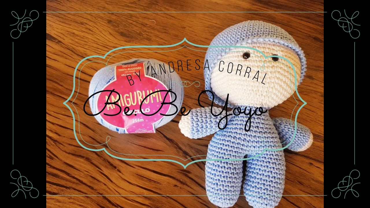 Receita Boneca Bebe Yoyo amigurumi | Boneca bebe, Bonecas, Bonecas ... | 720x1280