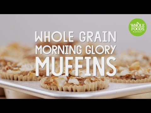 Whole Grain Morning Glory Muffins | Special Diet Recipes | Whole Foods Market