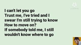 Can't let you go - Ali Gatie ( Video Lyrics)