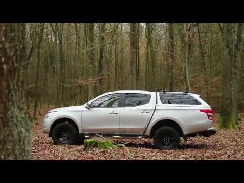 Road Ranger Hard Top Rh4 Monte Sur Pick Up Mitsubishi L200 Pour La Chasse Youtube