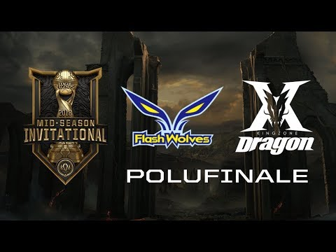 [LoL] MSI POLUFINALE - Kingzone DragonX (Koreja) vs Flash Wo