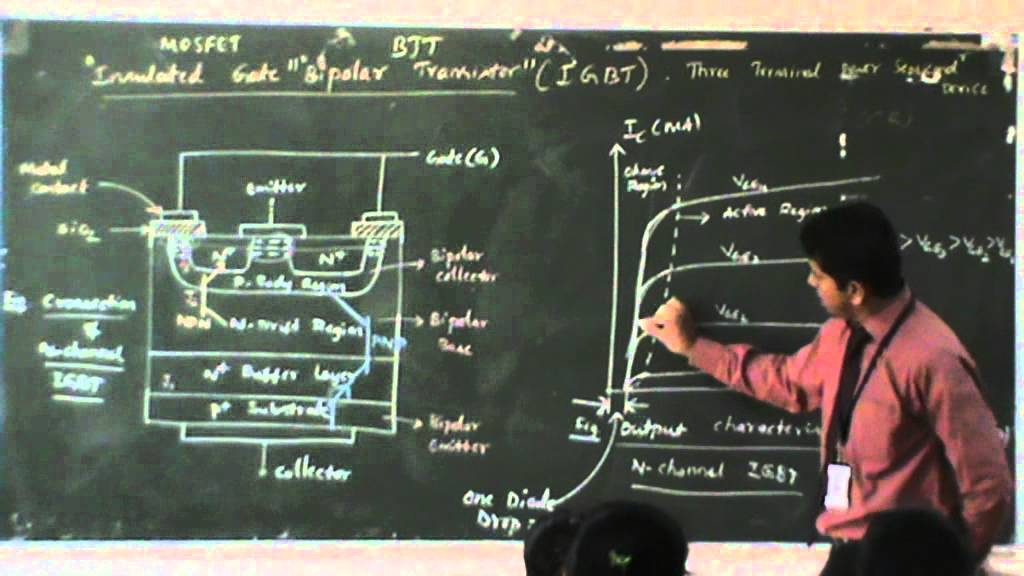 Lecture 32 Igbt Youtube