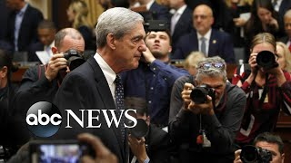 Robert Mueller takes questions for seven hours from two committees