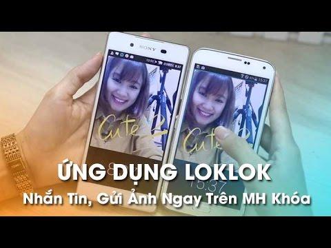 Ứng dụng Loklok – Nhắn tin, vẽ, gửi ảnh ngay trên màn hình khóa