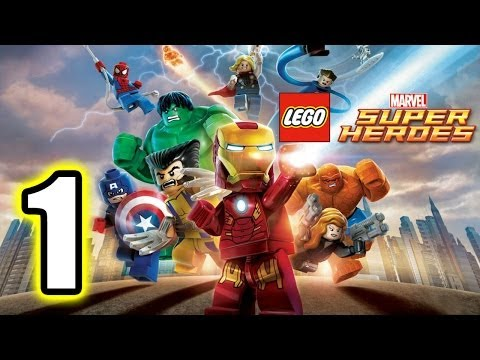 lego marvel super heroes walkthrough part 1 ps3 lets play gameplay truehd quality