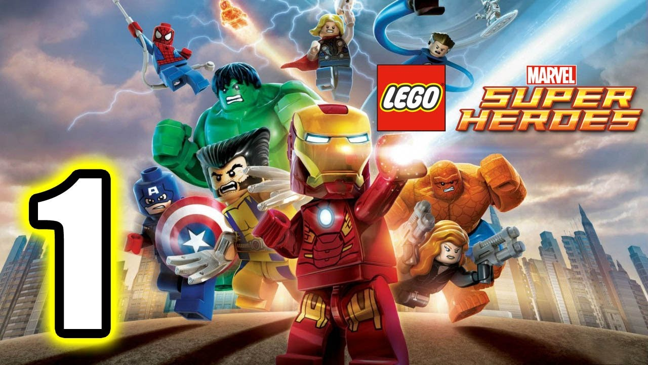 lego marvel super heroes walkthrough part 1 ps3 lets play gameplay