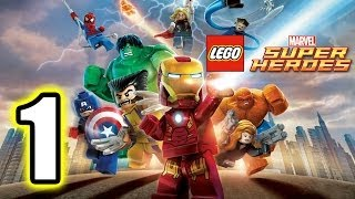 LEGO Marvel Super Heroes Walkthrough PART 1 [PS3] Lets Play Gameplay TRUE-HD QUALITY thumbnail