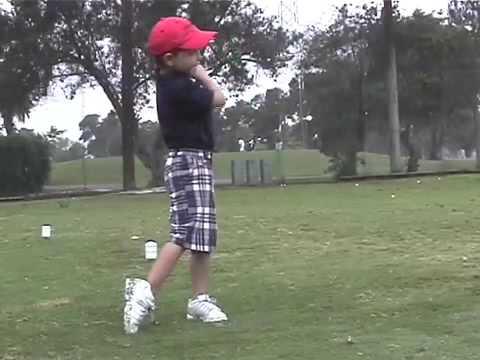 Southland Golf Magazine - Jaden Cantafio, 5-year-old golfer