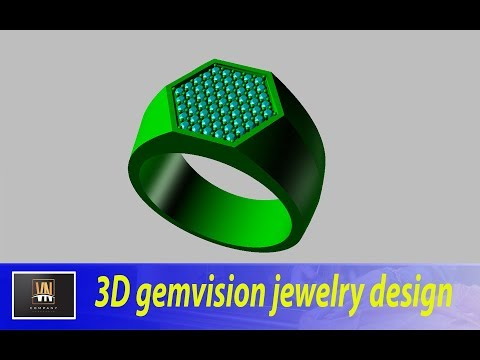 3D gemvision jewelry design matrix