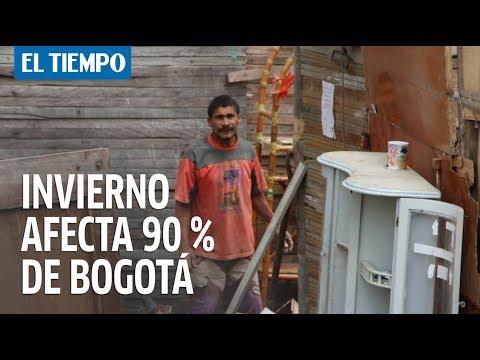Temporada invernal afecta 90 % de Bogotá | EL TIEMPO