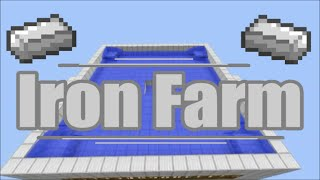Minecraft: Automatic Iron Farm 1.8