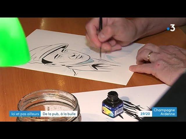 Rencontre avec le scénariste et dessinateur de BD, Frédéric Marniquet