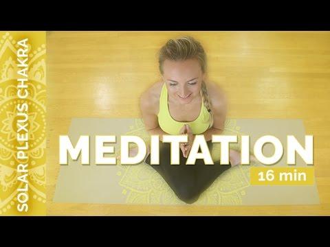 Manipura: Solar Plexus Chakra Meditation For Healing and