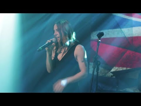 Melanie C no Fantástico: Bastidores