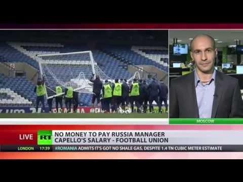 No salary for Fabio Capello - Russian Football Union