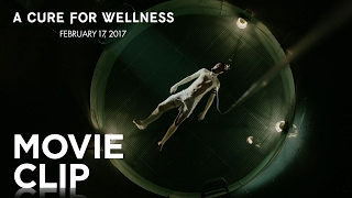 "A Cure for Wellness | ""Sensory Deprivation Tank"" Clip [HD] 