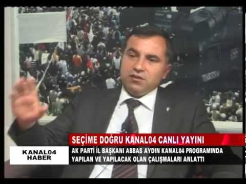 Ak Parti Ağrı İl Başkanı Av. Abbas Aydın Kanal04'de Seçim Sürecini Değerlendirdi